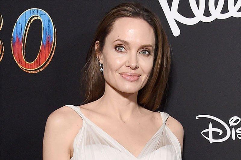 Angelina Jolie microbladed eyebrows