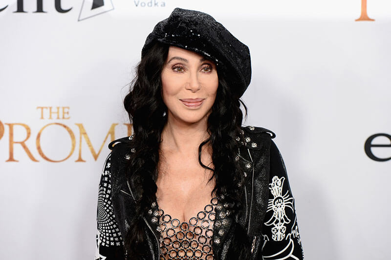 Cher has done permanent eyeliner