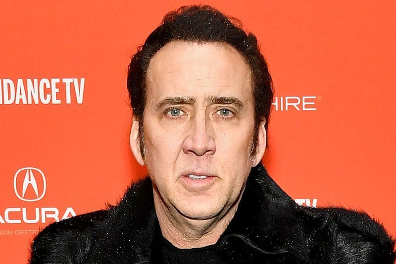 Nicolas Cage - celebrity with permanent makeup treatments