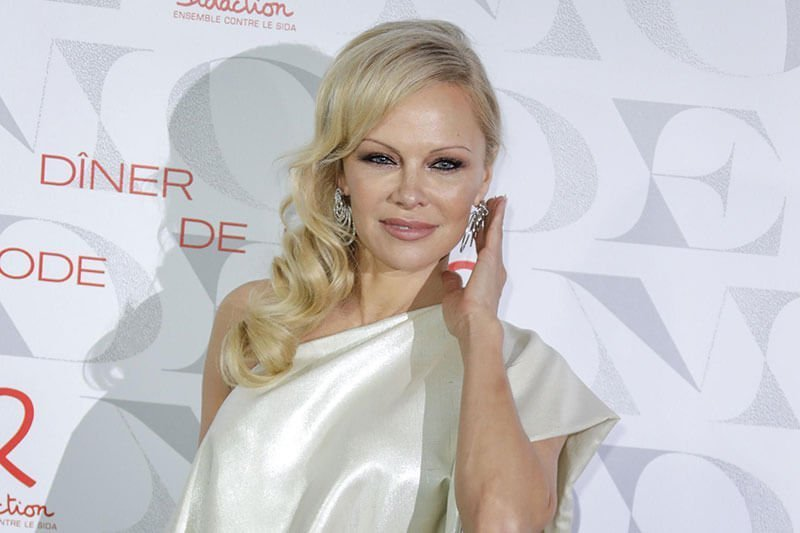 Pamela Anderson - a celebrity with permanent lip liner