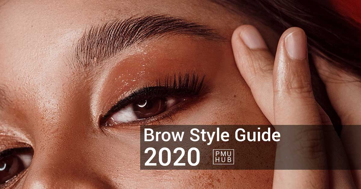 How to Style Your Brows in 2020 - A Brow Style Guide by pmuhub.com