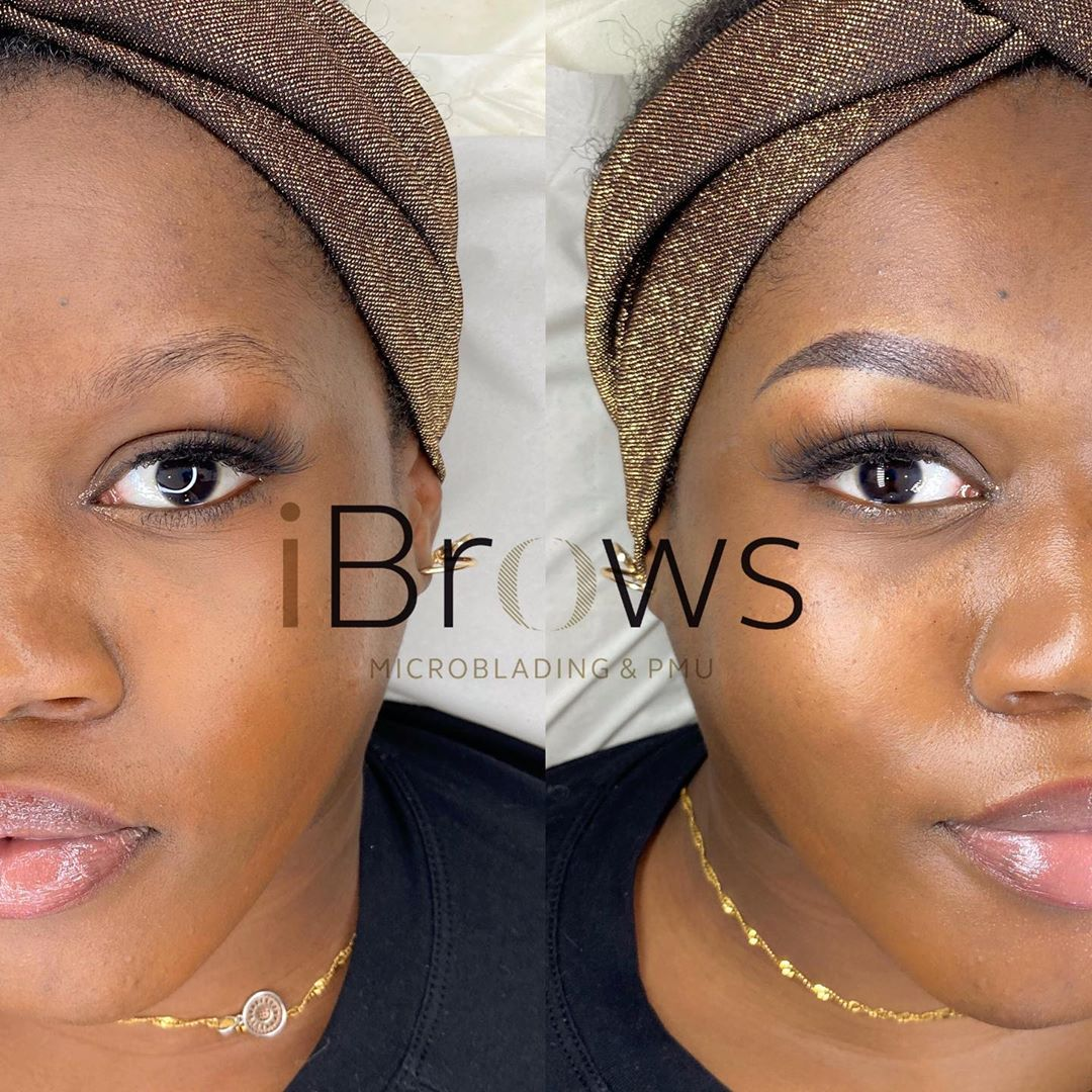Ombre Eyebrows Before and After Pictures Gallery - PMUHub