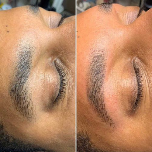 Eyebrows done getting men acrylic nails