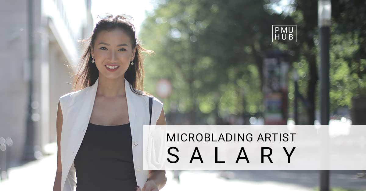 Microblading artists salary