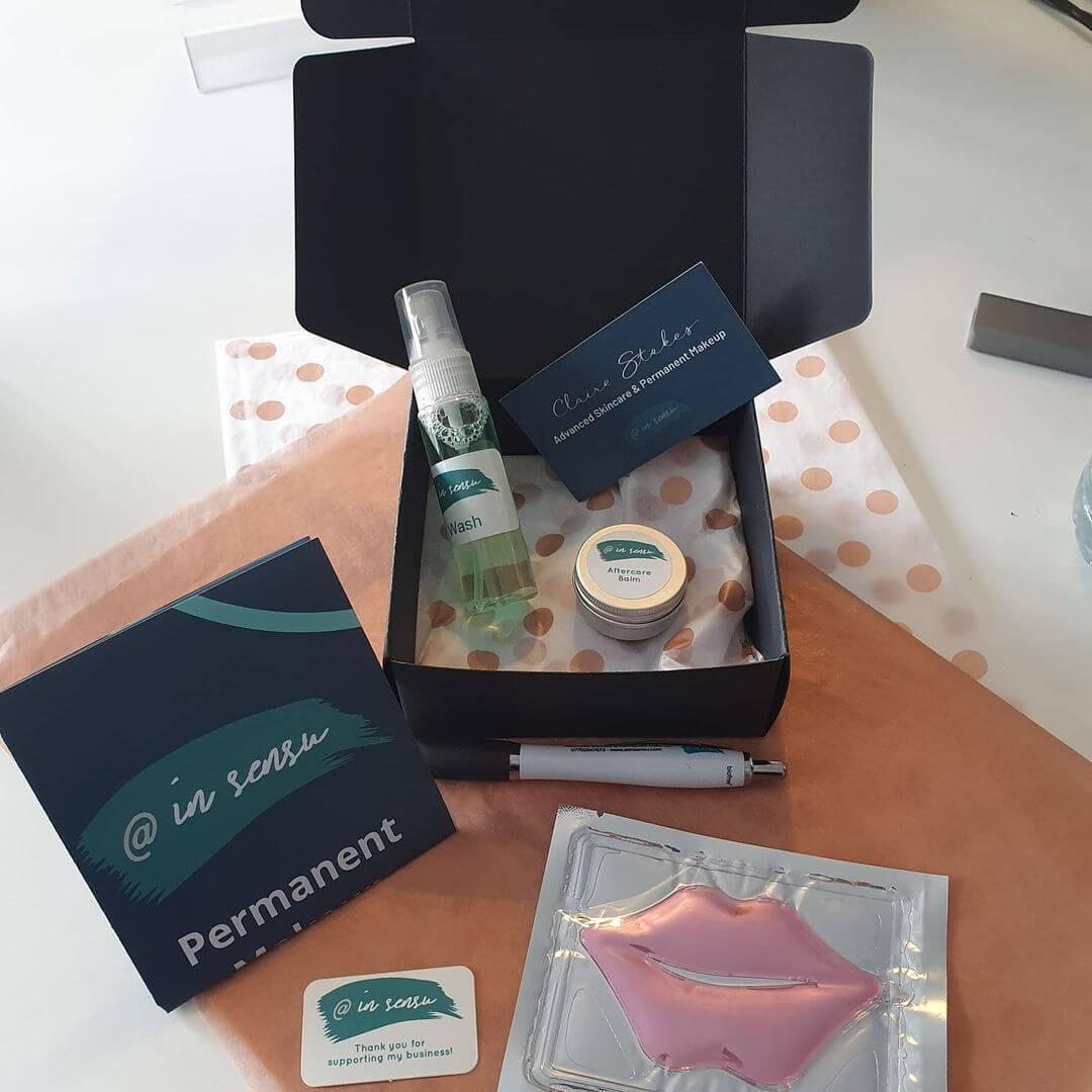 Permanent Makeup Treatment Aftercare Kit