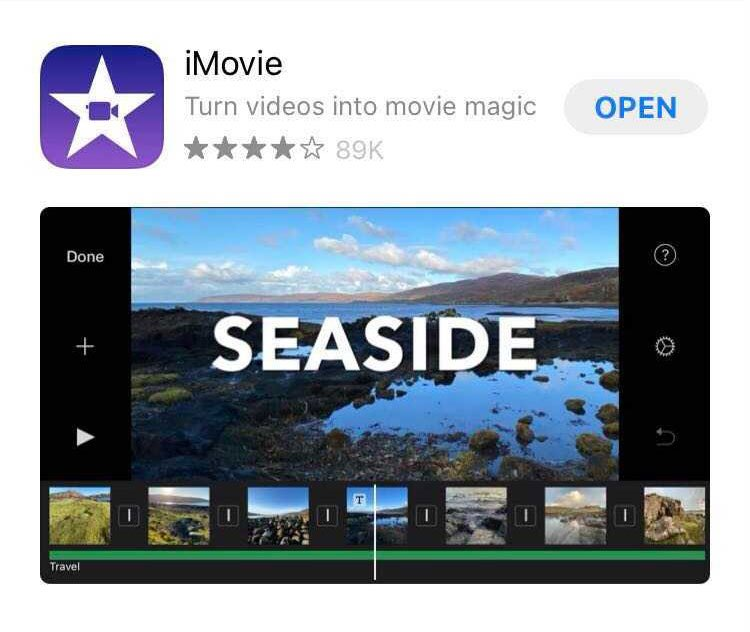 App for video editing