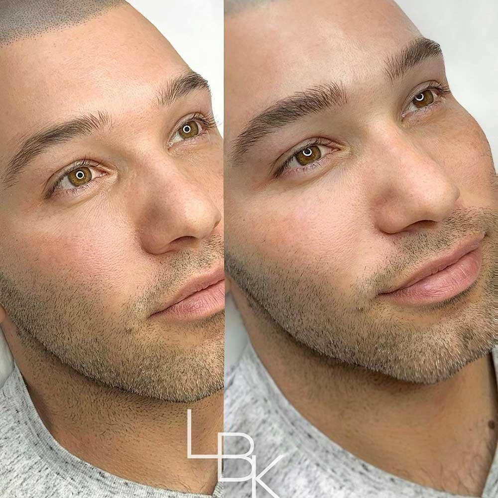 Men who do their eyebrows