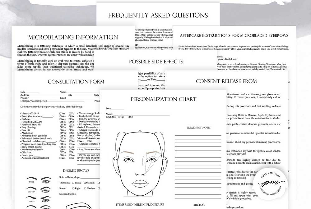What Does the Microblading Consent Form Look Like?