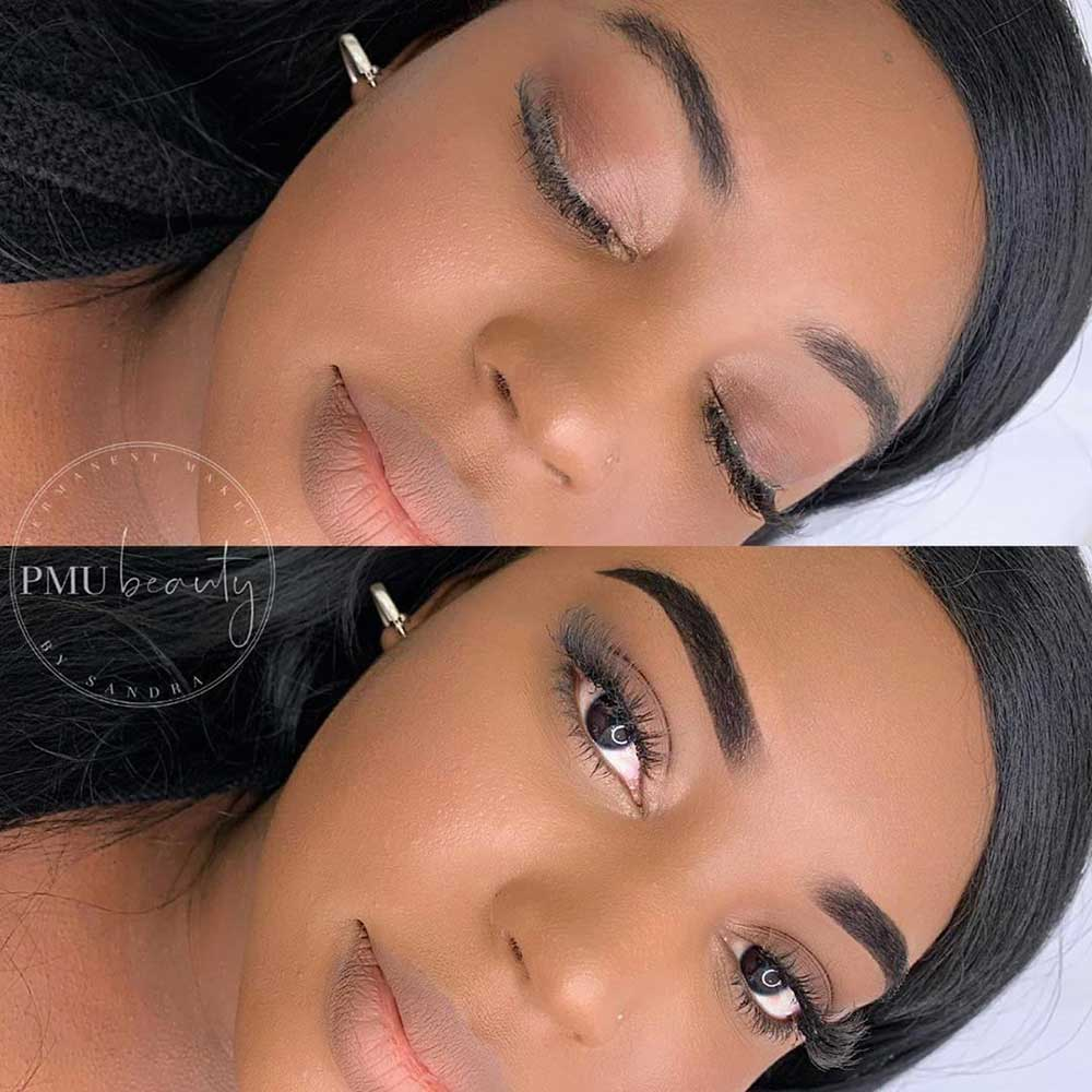 What are the Pros of Ombre Powder Brows?