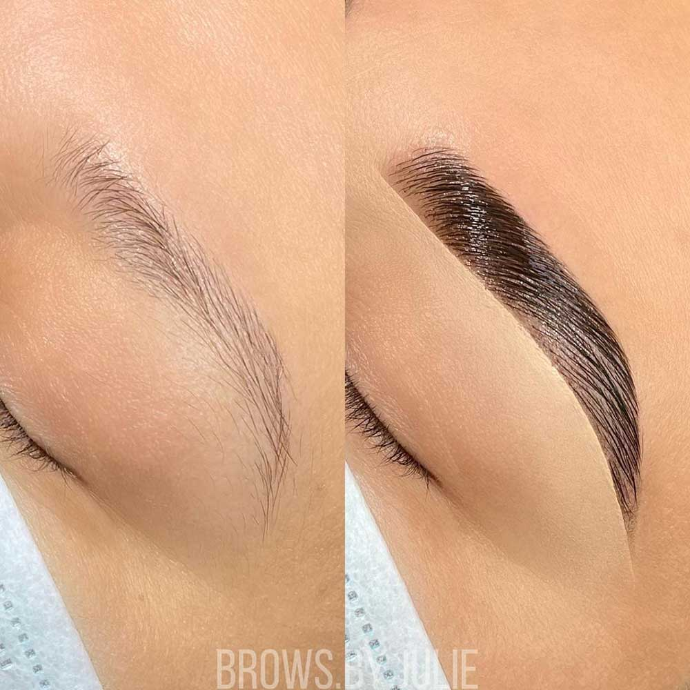 Is Brow Lamination on Sparse Brows Possible?