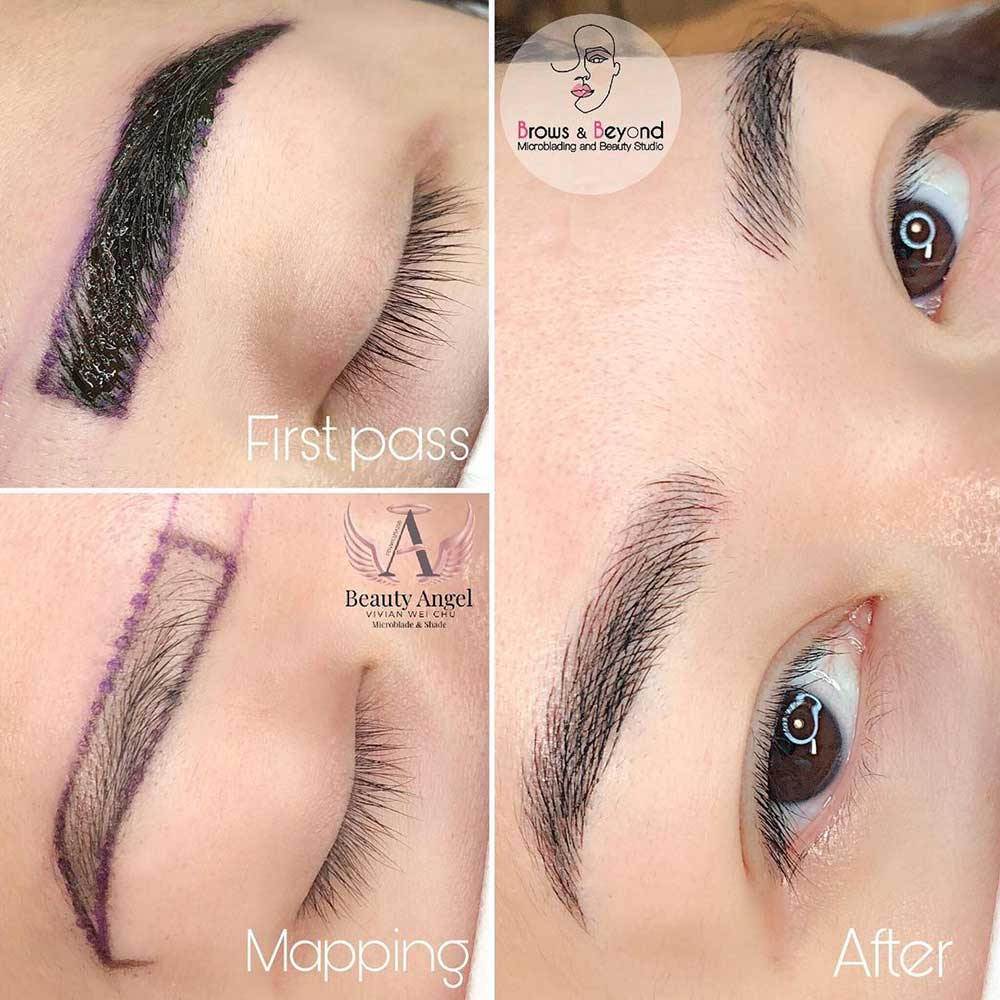 Try Mapping with Waterproof Eyeliner