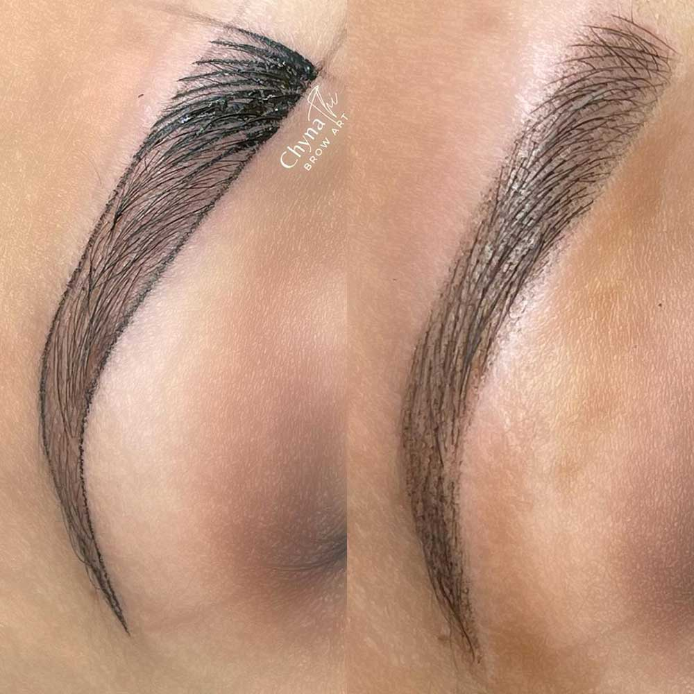 Can Microblading be Combined With Powder Brows?