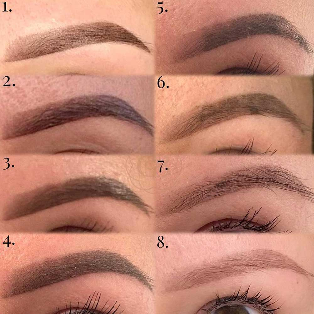 What Does the Ombre Powder Brows Healing Day by Day Look Like?