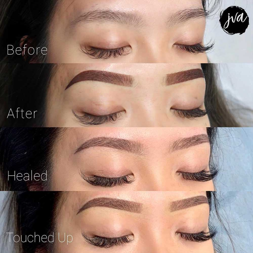 What Is the Powder Brows Healing Process?
