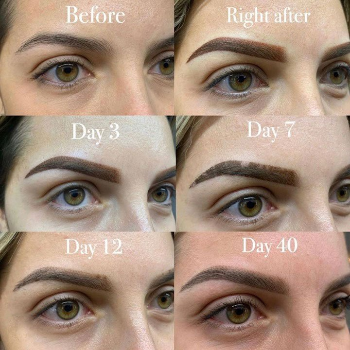 How Long Do Powder Brows Take to Heal?
