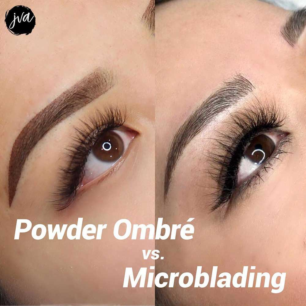 What is the Difference Between Microblading and Powder Brows?