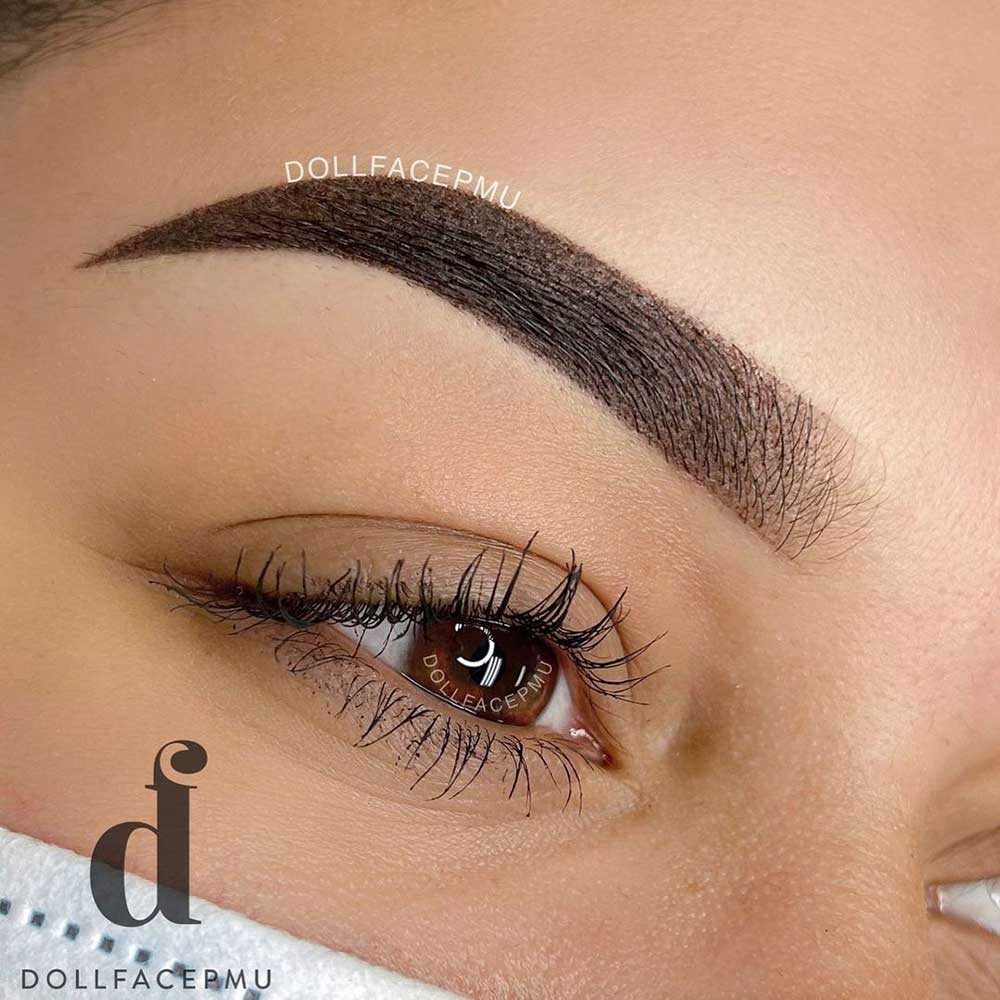 What are ombre eyebrows treatment?