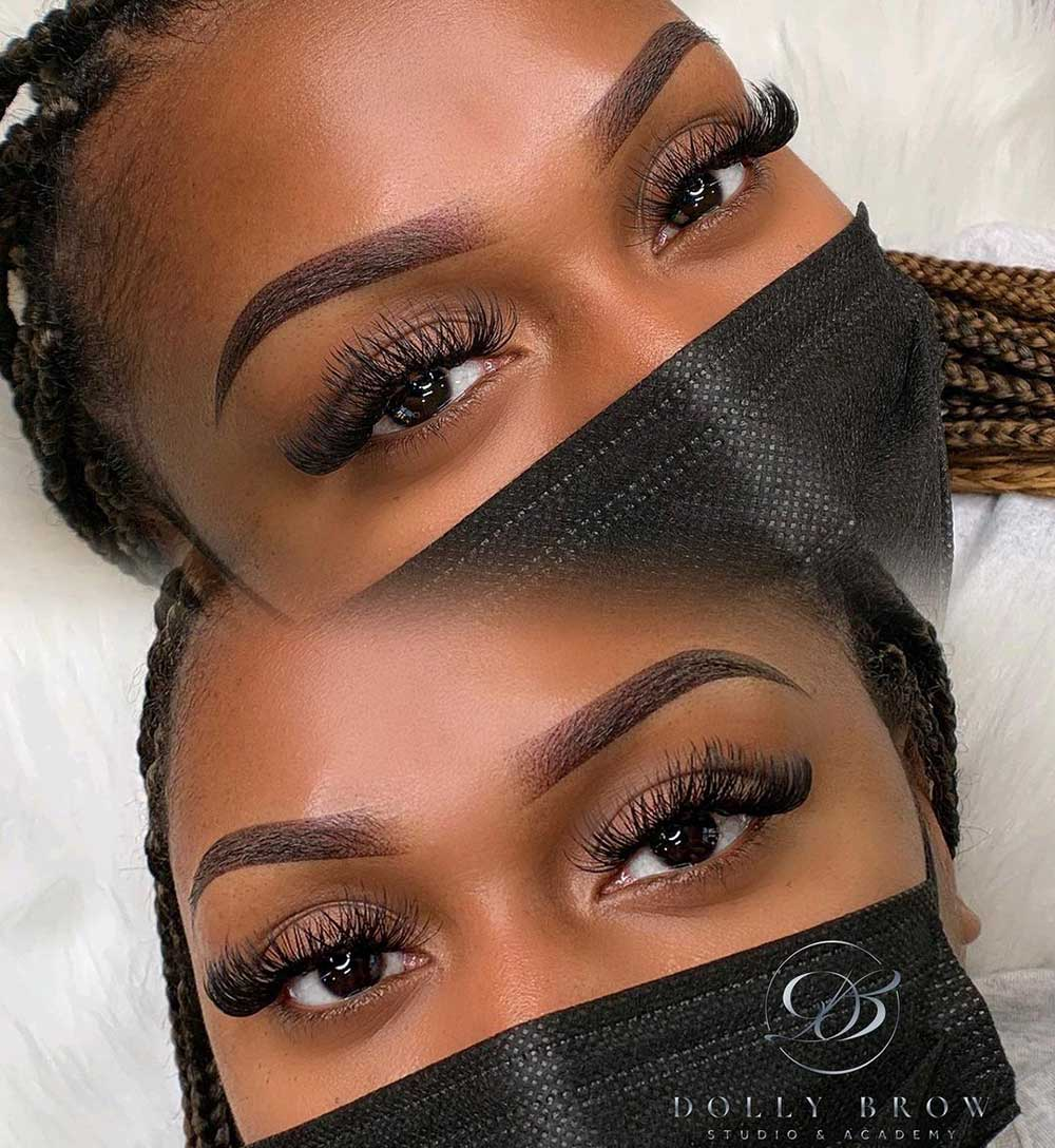 What Are Powder Ombre Brows?