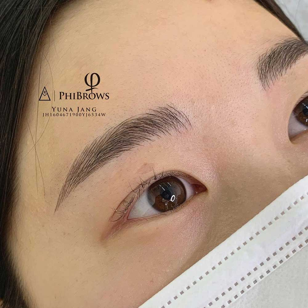 Thicker, Archless Caterpillar Eyebrows