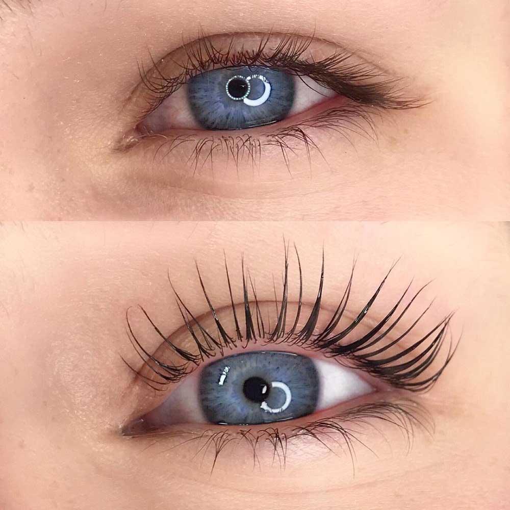 Lash Lift or Lash Perm for natural eyelashes