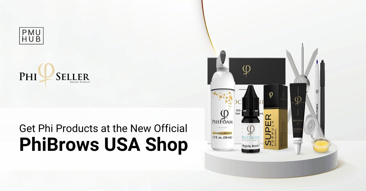 New Official PhiBrows USA Online Shop