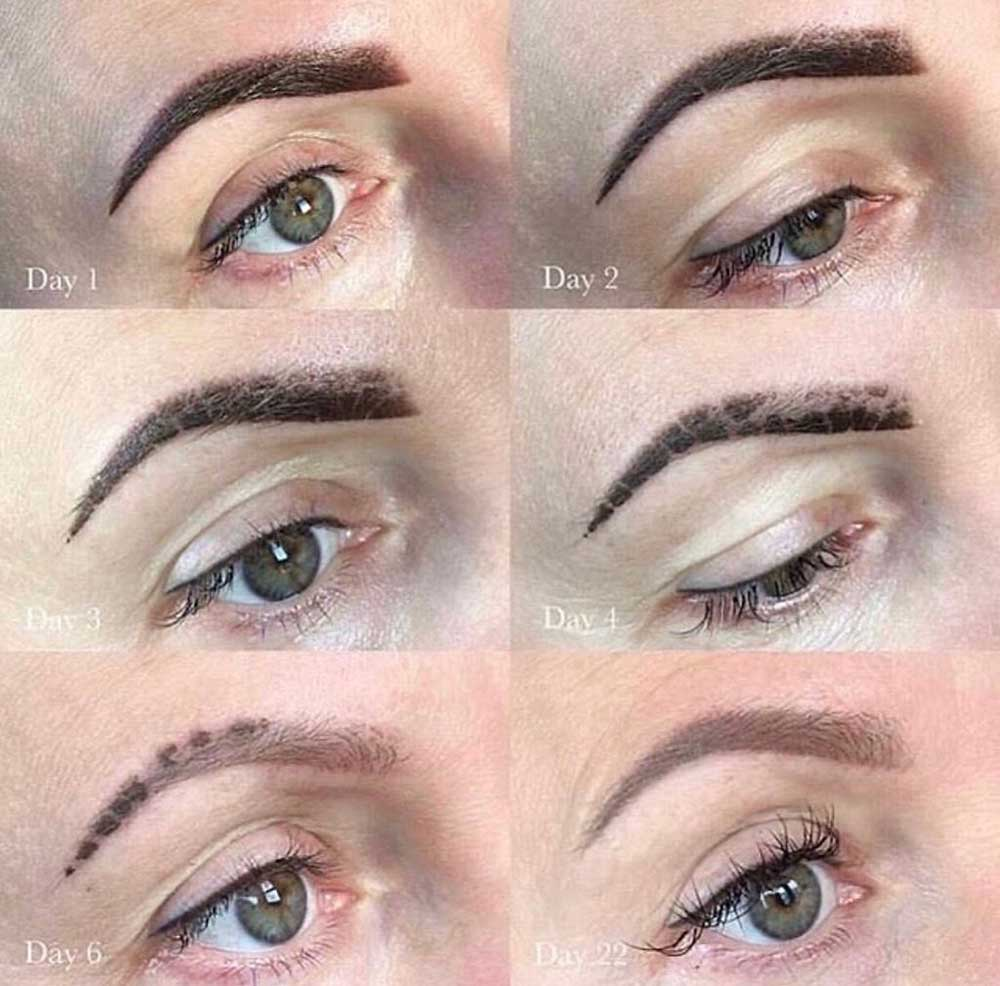 What Will My Brows Look Like After the Scabbing Process is Finished?