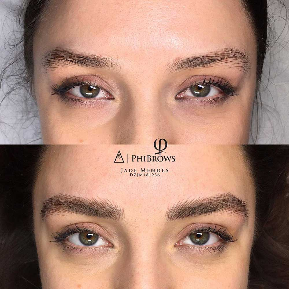 Permanent Makeup for eyebrows - Feather Brows