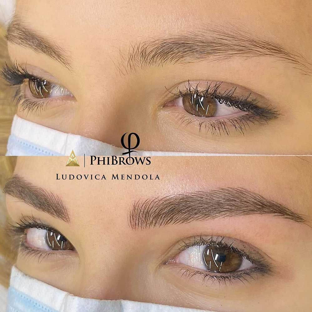 Semi Permanent Makeup - Microblading Eyebrows
