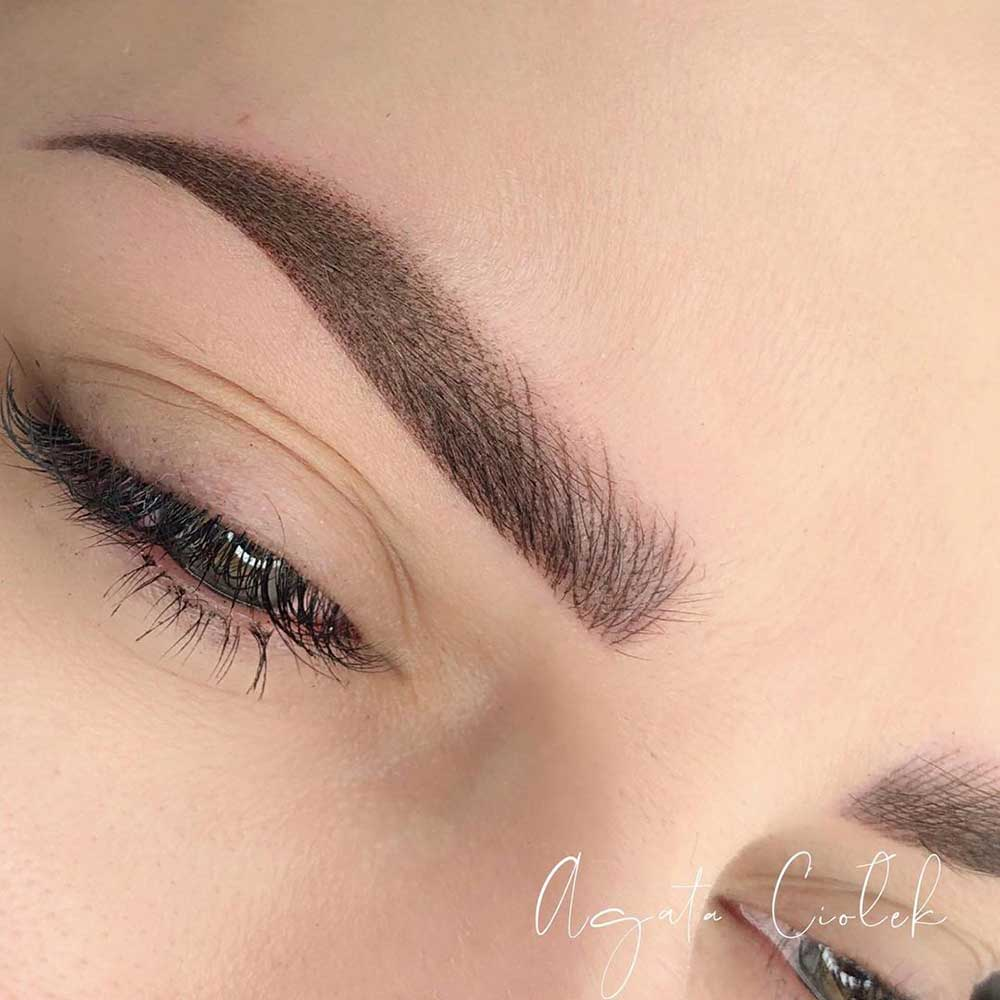Permanent Makeup for eyebrows - Microshading or Combo Brows