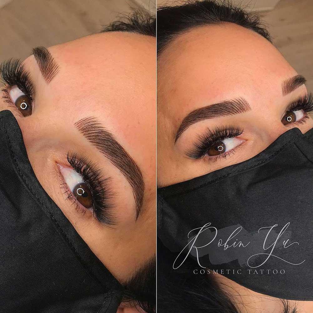 Permanent Makeup for eyebrows - Nano Brows