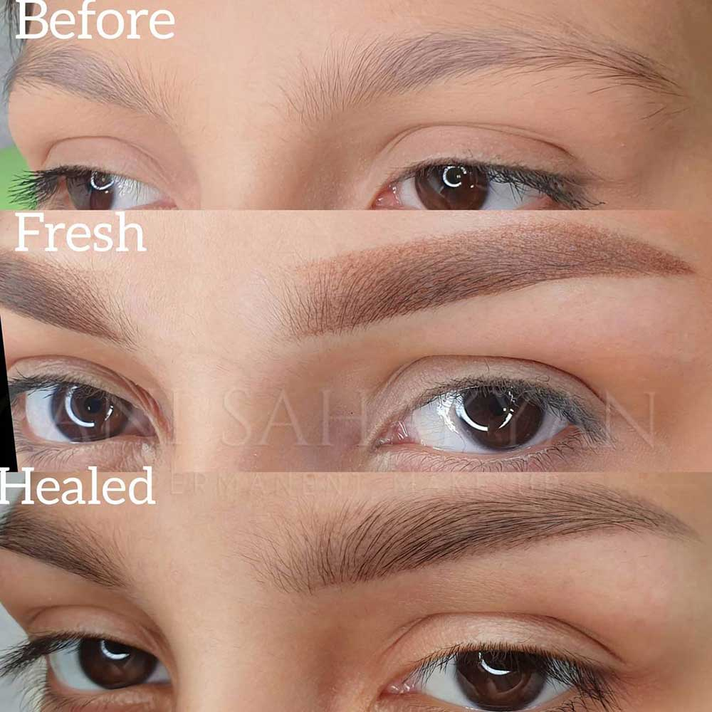 How Do I Maintain My Powder Brows Once They Are Healed?