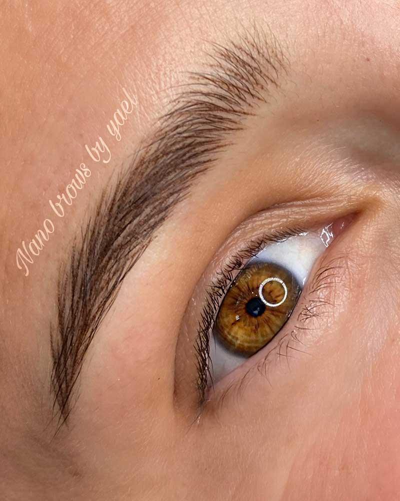 Cosmetic Eyebrow Tattoo - Nano brows