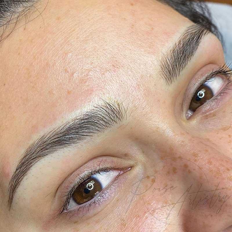 Cosmetic Eyebrow Tattoo - Microblading
