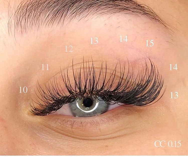 Classic Lashes Lenght