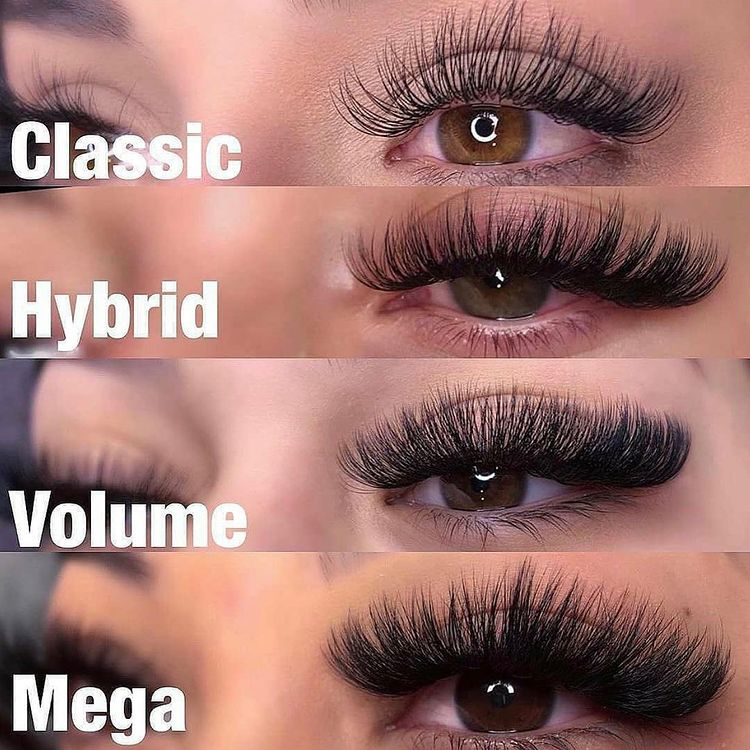 Classic, Volume, or Hybrid Lash Extensions - Which To Choose?
