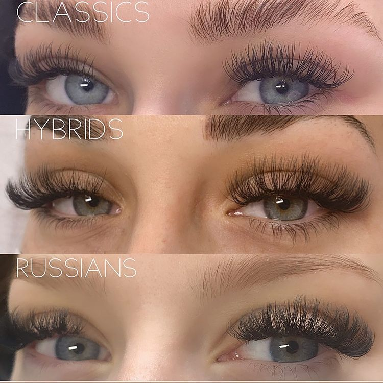 Hybrid Lashes and Other Styles