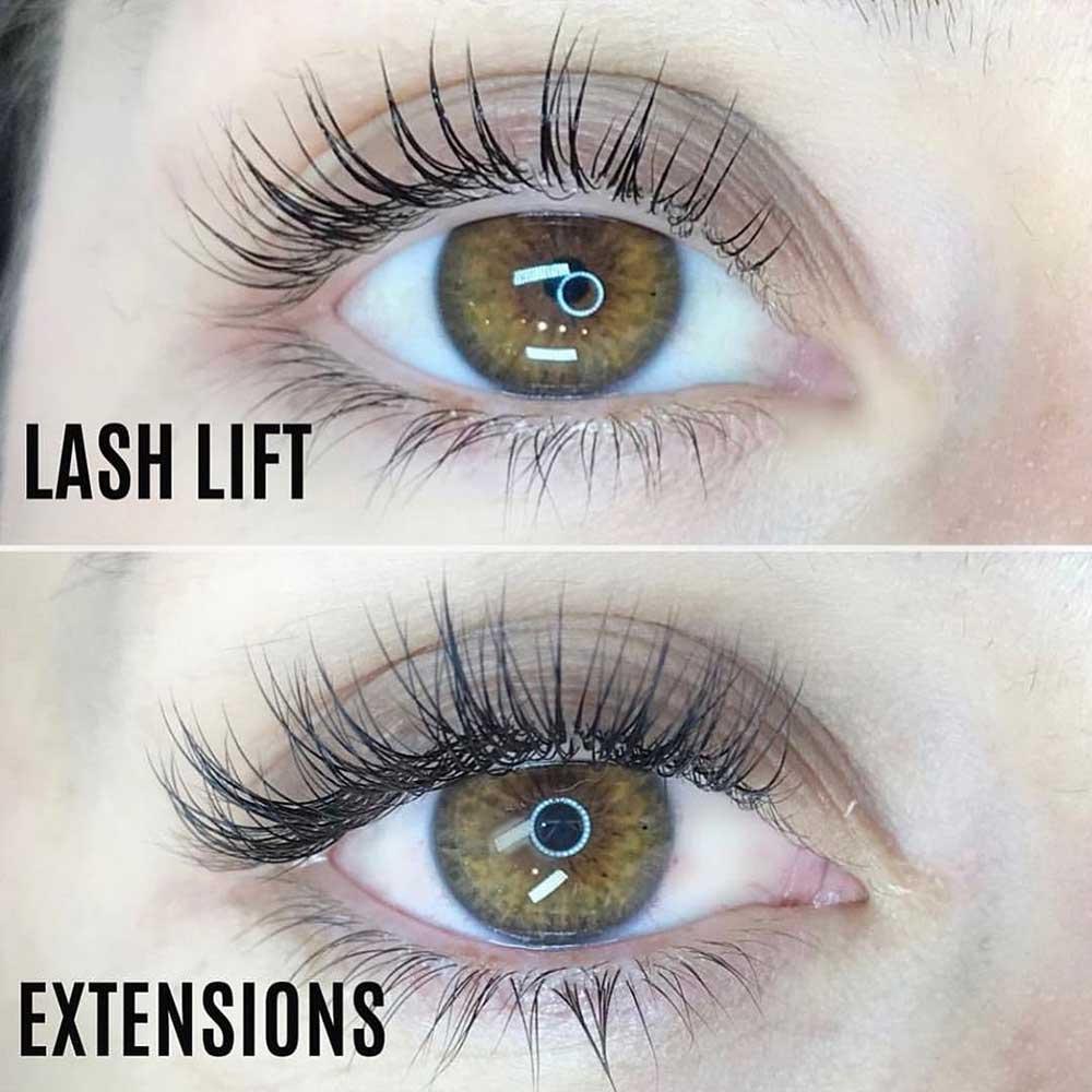 Lash Lift vs Extensions: Key Differences