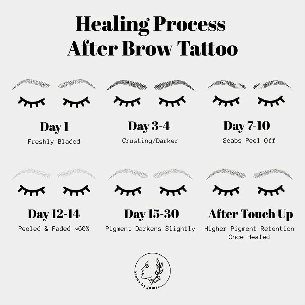 Microblading disappeared after scabbing, it is a normal part of the process and the pigment will reappear
