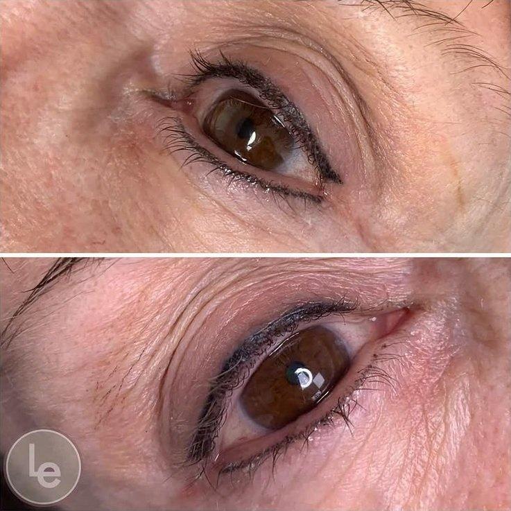 Permanent Eyeliner for Aging Eyes by PMUHub