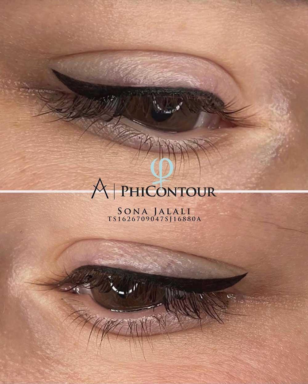 PMU Tattoo Eyeliner Aftercare Days 1-10