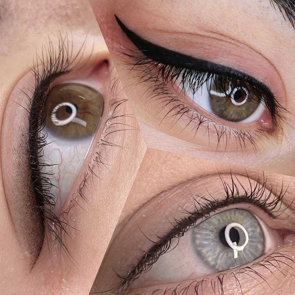 3 basic permanent eyeliner styles
