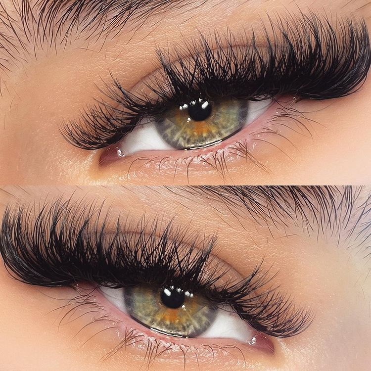 Russian Volume Eyelash Extensions Thickness