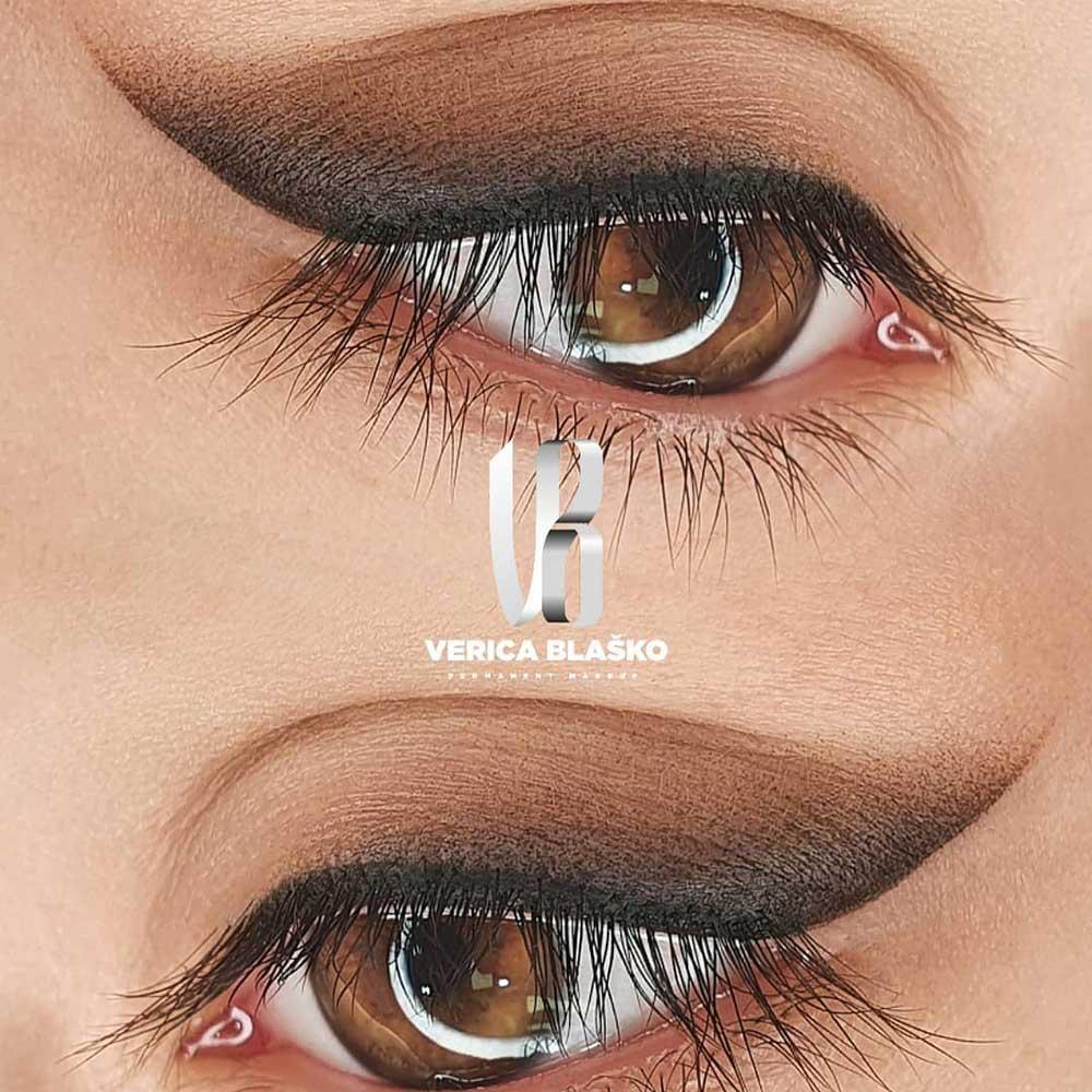 PMU Shaded or Smokey Eyeliner (Designer Eyeliner)