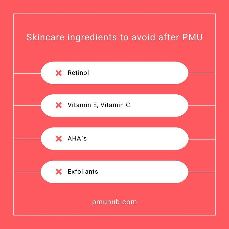 Skincare ingredients that speed up the fading process