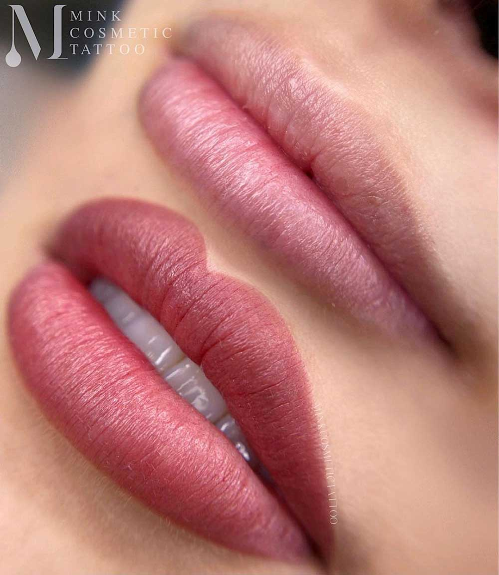 A cosmetic lip tattoo is a treatment that involves inserting pigments beneath the surface layer of the skin of your lips