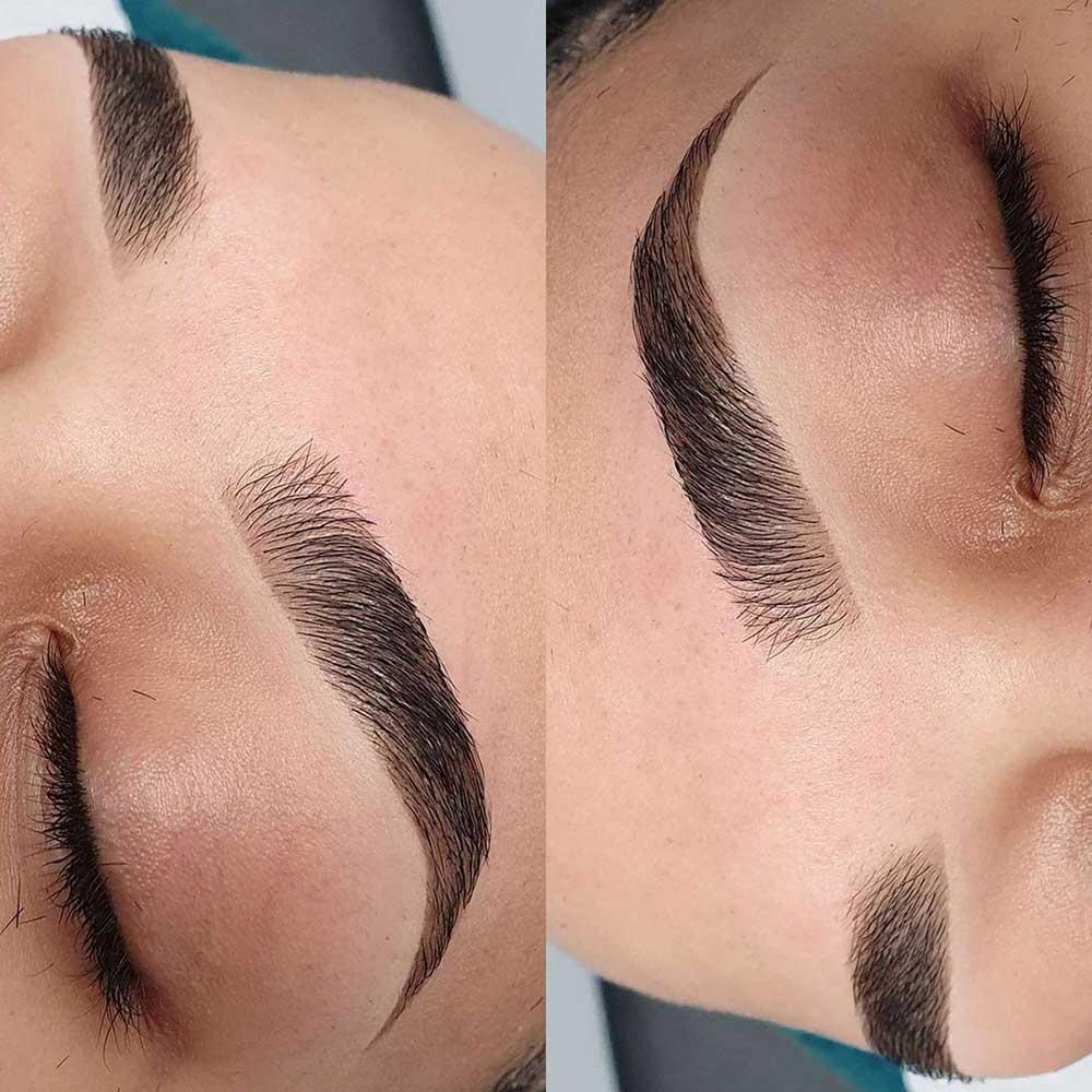 Henna Eyebrows non-Invasive treatment