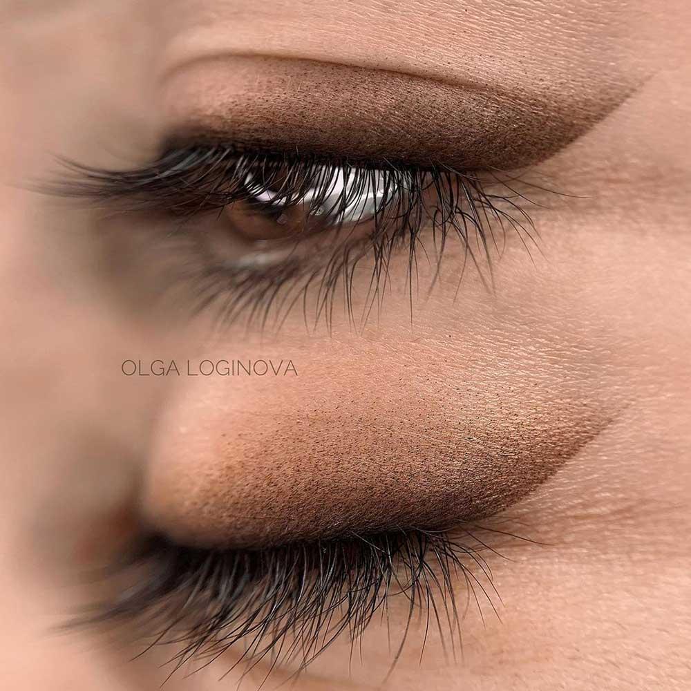 Shaded Permanent Makeup Eyeliner