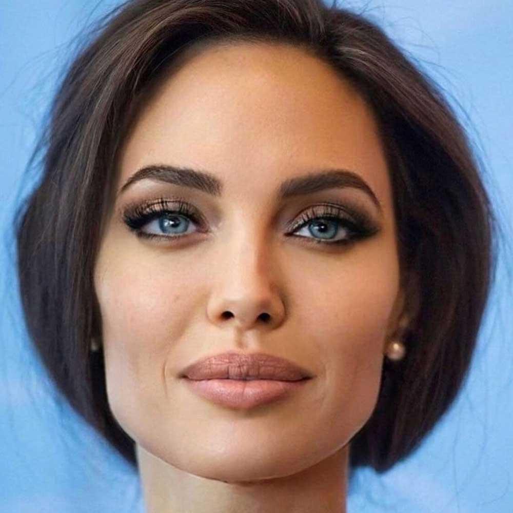 Angelina Jolie permanent makeup treatment