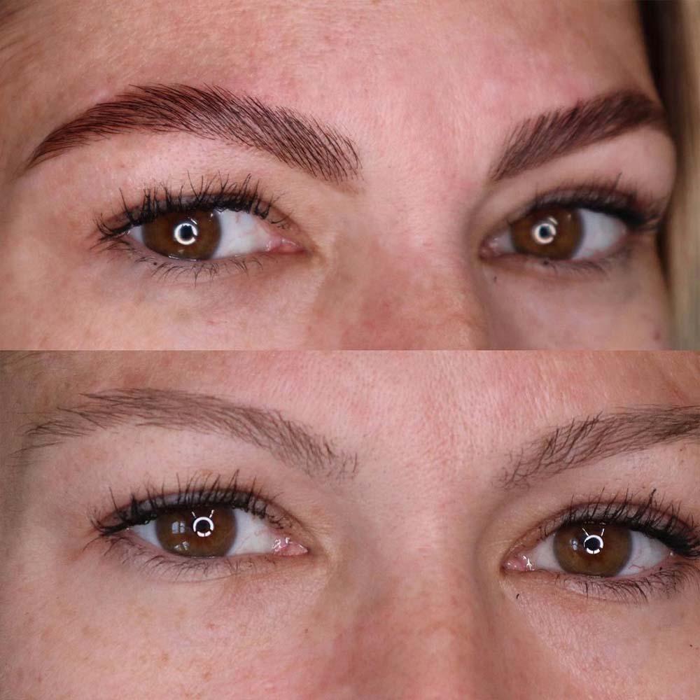 Brow Lamination + Eyebrows Tinting = Brow Lift & Tint