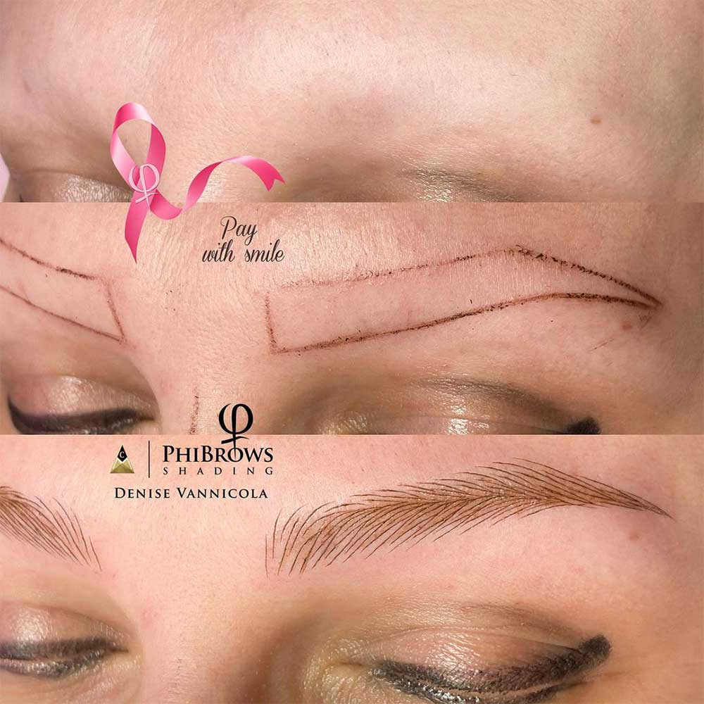 Most cancer patients/survivors are good candidates for microblading.